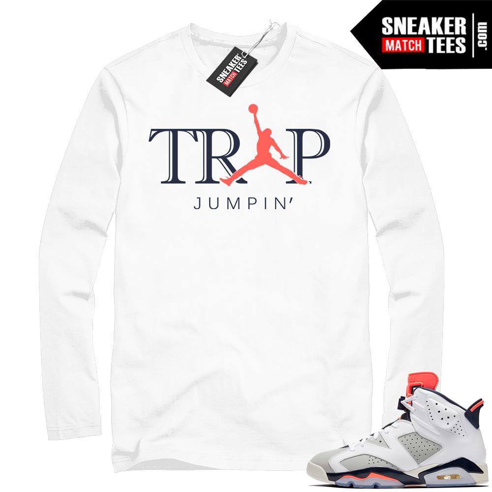 Infrared Tinker 6 white long sleeve shirt