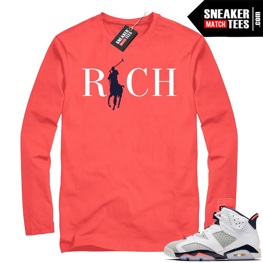 Infrared Tinker 6s Rich Shirt