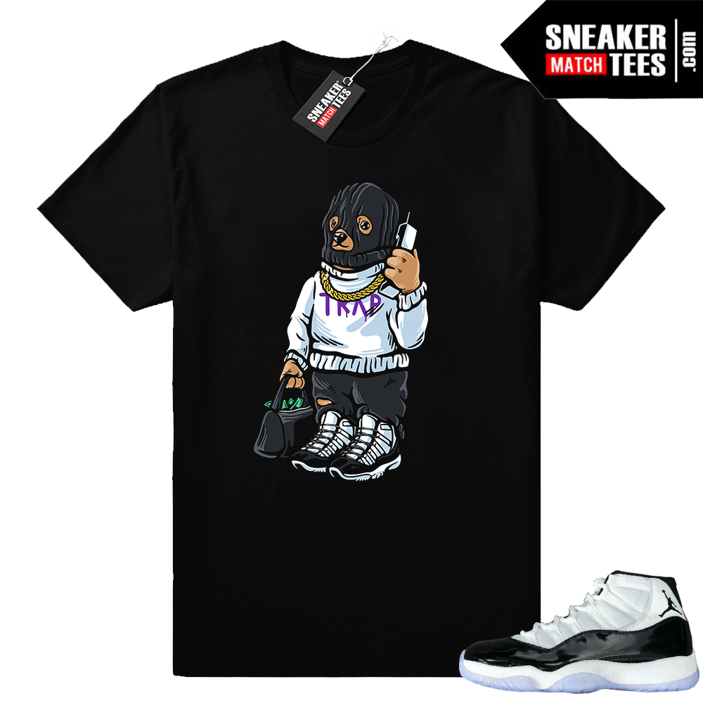 Jordan 11 Concord Trap Bear Shirt