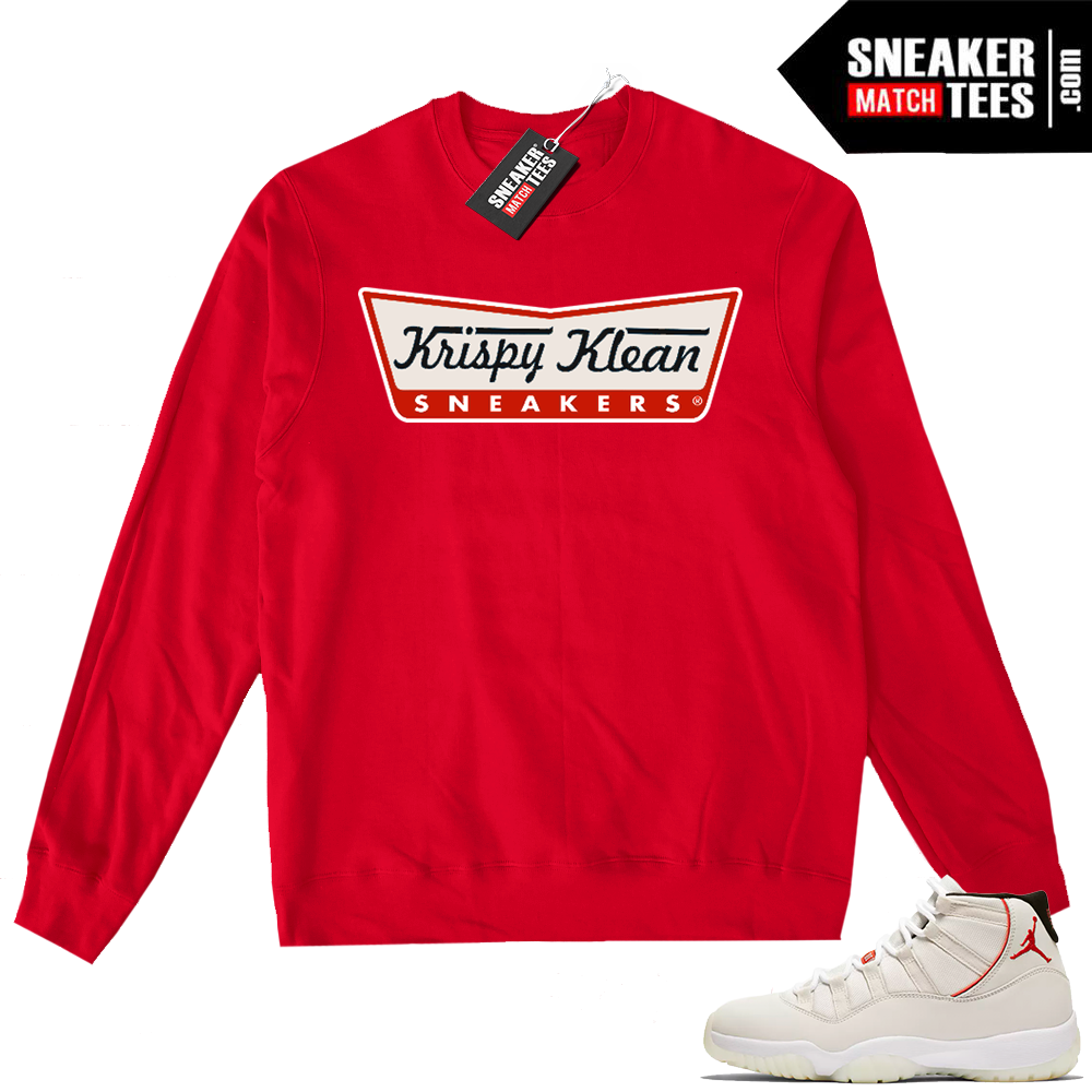 Jordan 11 Crewneck sweater