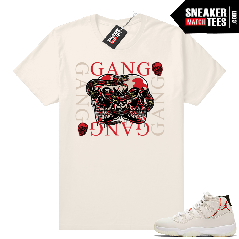 Jordan 11 Gucci Gang T-shirt