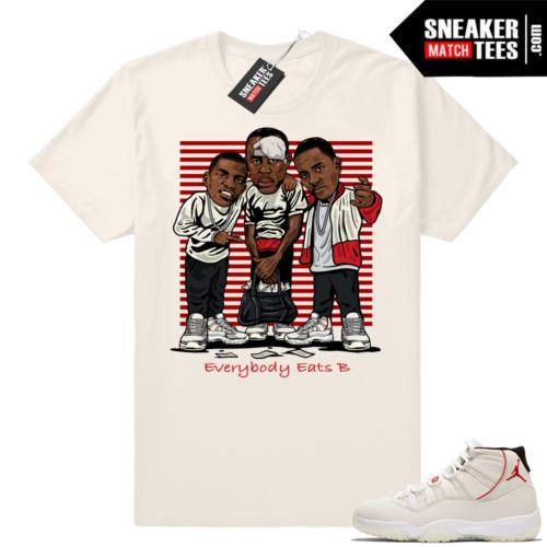 Jordan 11 Platinum Tint t-shirt match