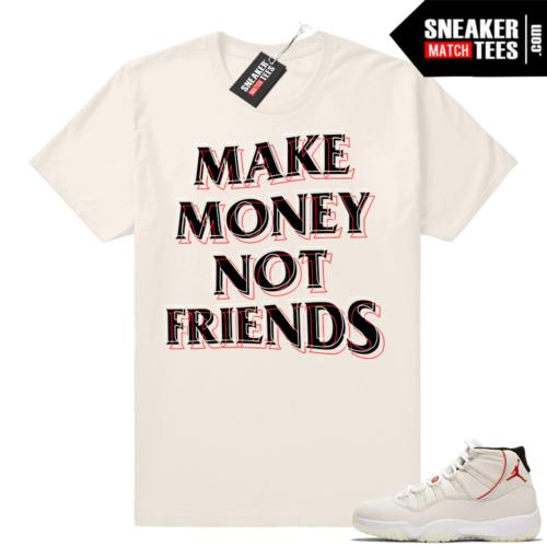 Jordan 11 Platinum shirt