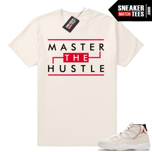 Jordan 11 T-shirt Master the Hustle