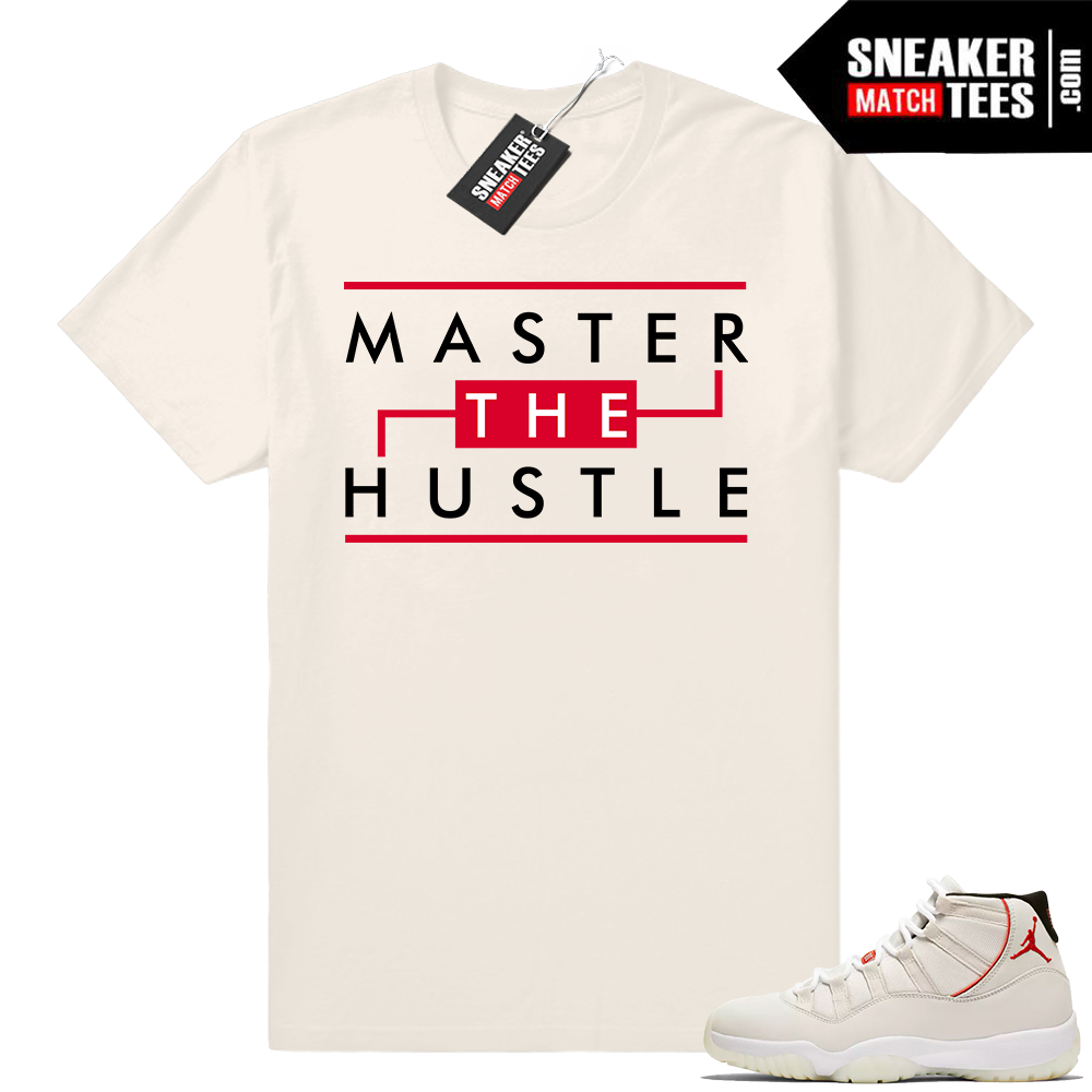 Jordan 11 T-shirt Master the Hustle