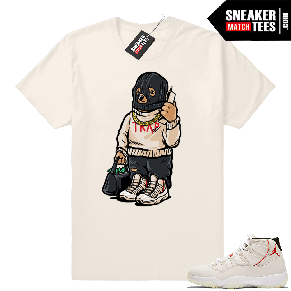 Jordan 11 Trap Bear T-shirt