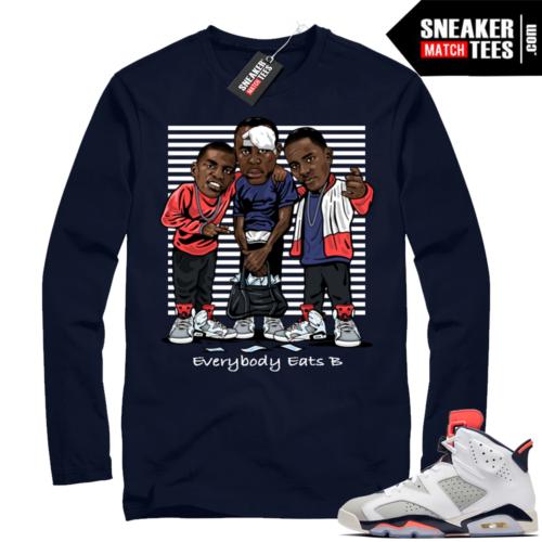 Jordan 6 Tinker Shirts