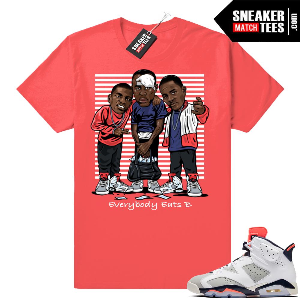 Jordan 6 Tinker Sneaker Match shirt