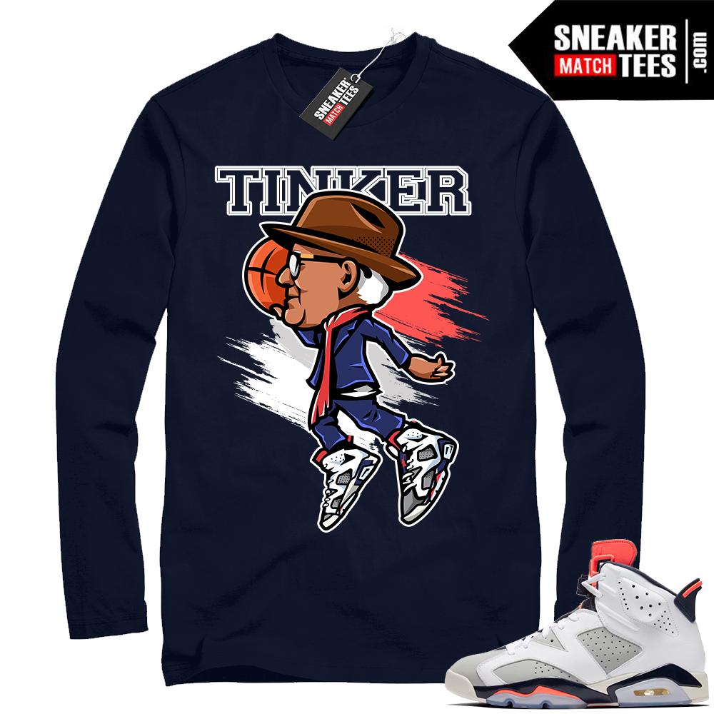 Jordan 6 Tinker shirt