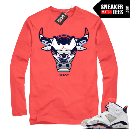 Jordan 6 Tinker sneaker tee shirt