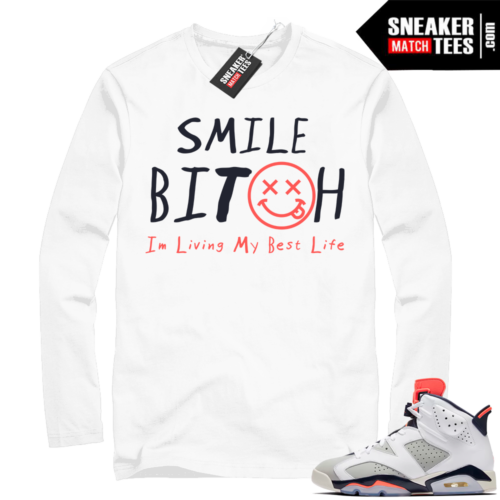 Jordan 6 Tinker sneaker tees