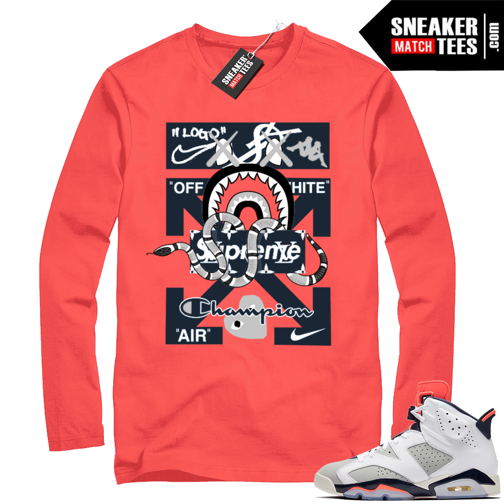 Jordan 6 retro sneaker tees