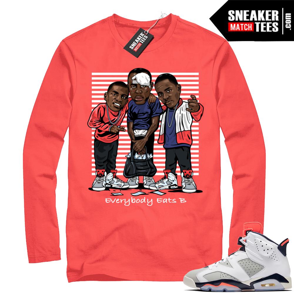 Jordan 6 shirt Tinker 6s
