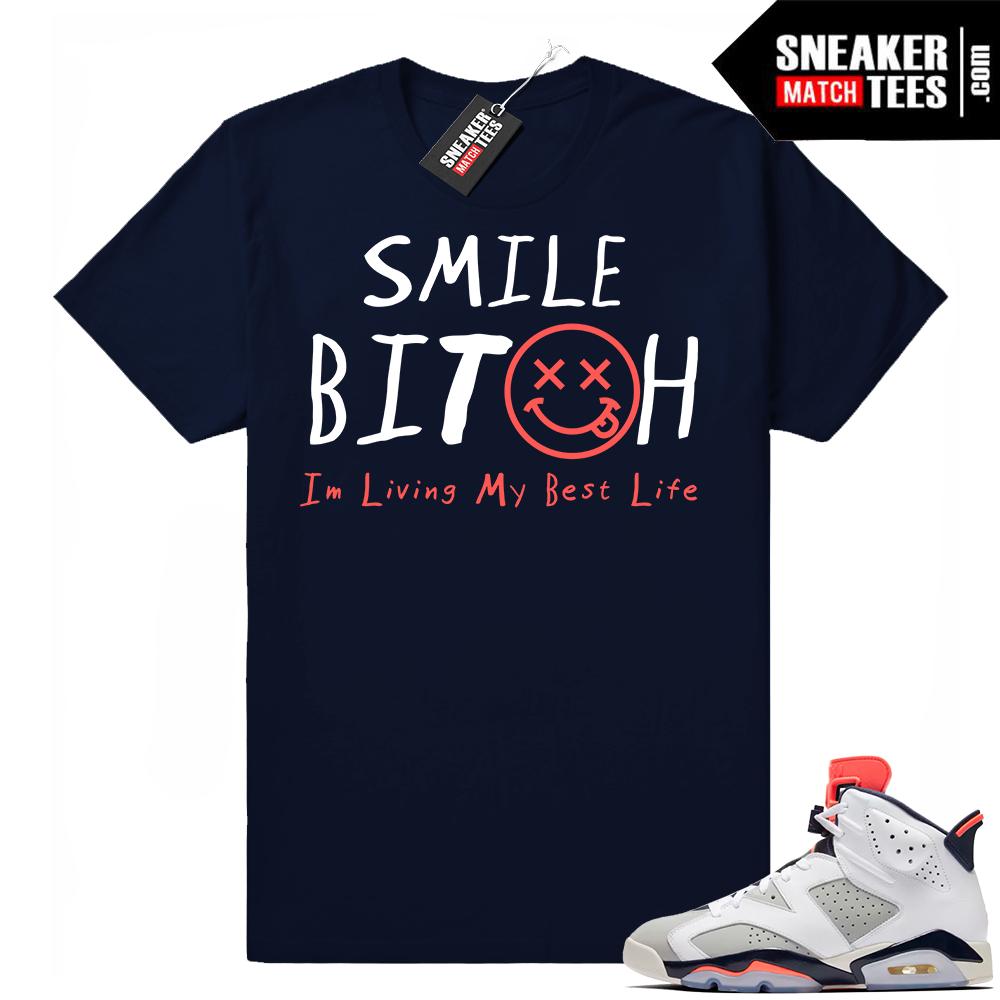 Jordan 6 tinker shirt match