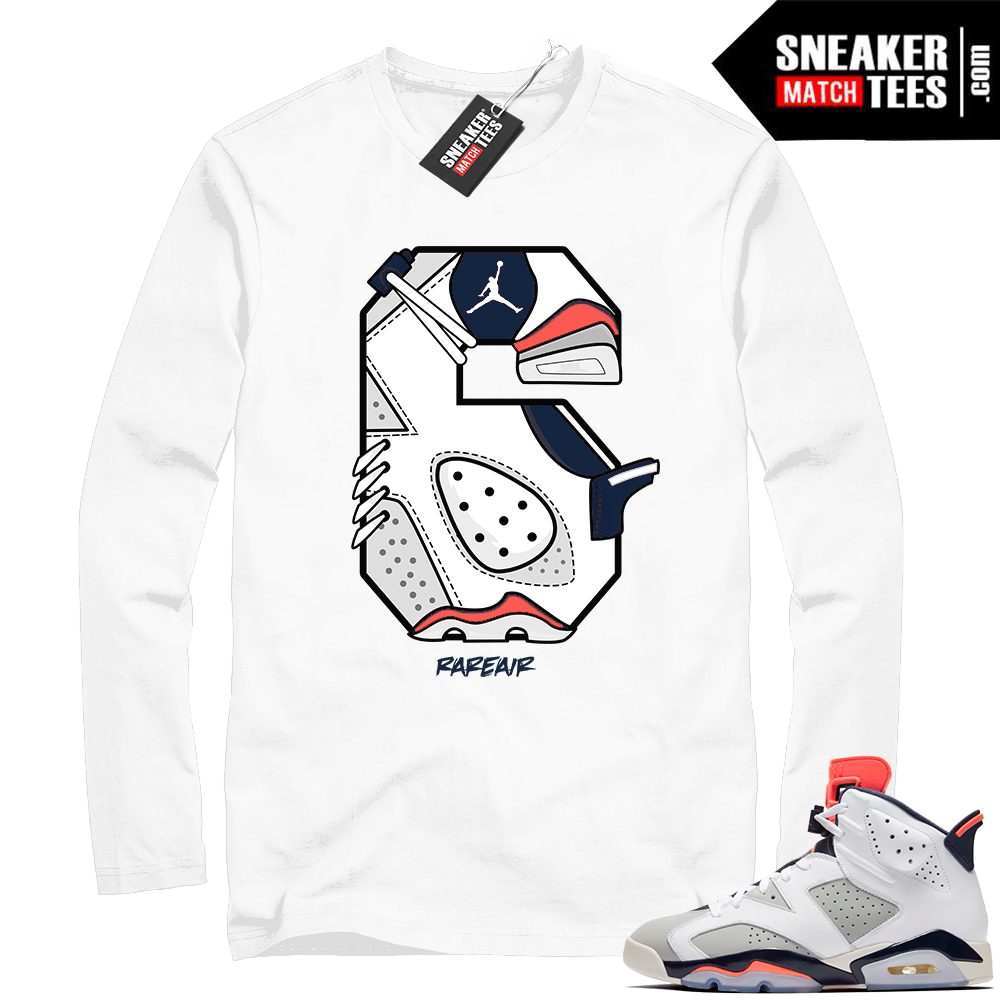 Jordan 6s sneaker tees