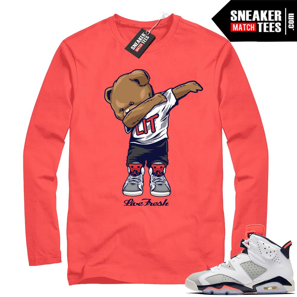 Jordan Infrared shirt Tinker 6