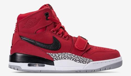 Jordan release dates Legacy 312 Varsity Red