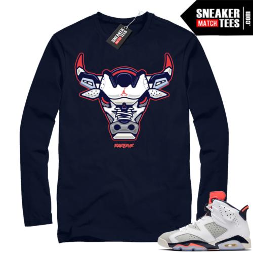 Jordan retro 6 shirts Tinker