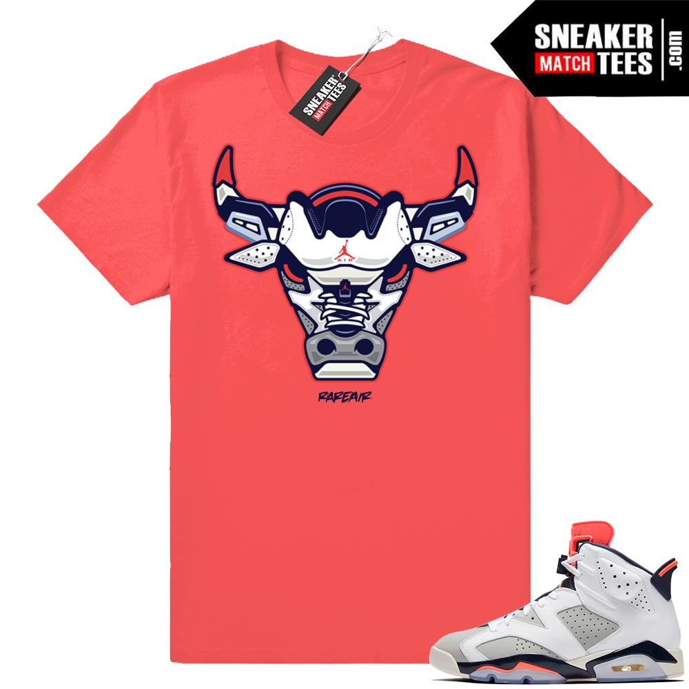 Jordan shirt Tinker 6s match