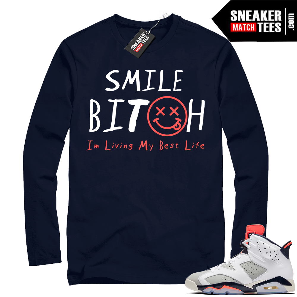 Jordan shirt match Tinker 6s