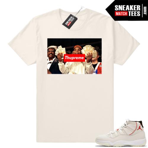 Jordan t-shirt Platinum 11s