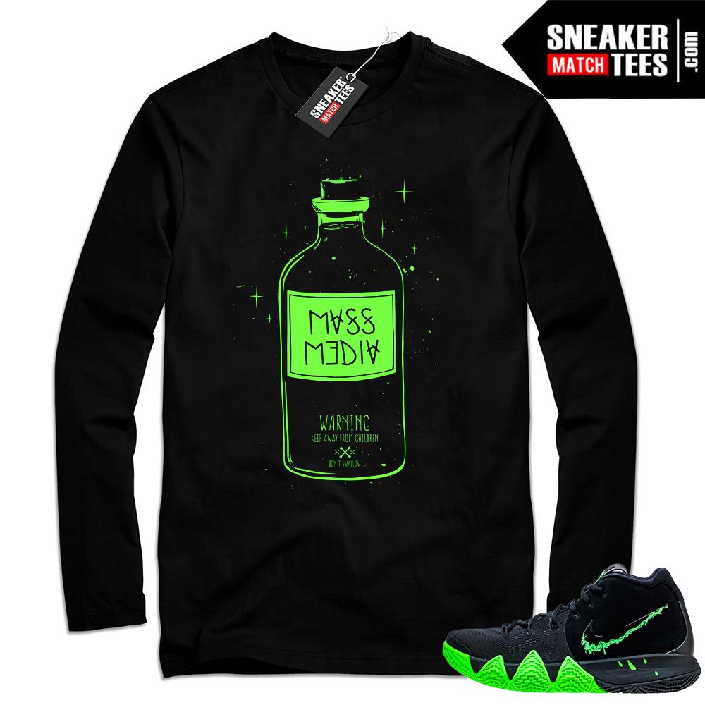 Kyrie 4 Halloween sneaker shirt