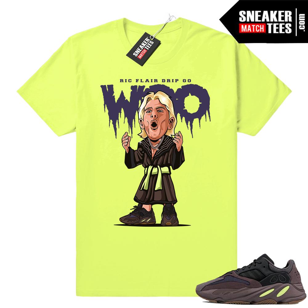 Match Adidas Yeezy t-shirts