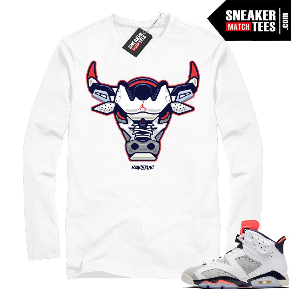 Match Air Jordan 6 shirts Tinker