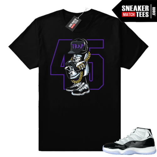 Match Concord 11 Jordan sneaker tees