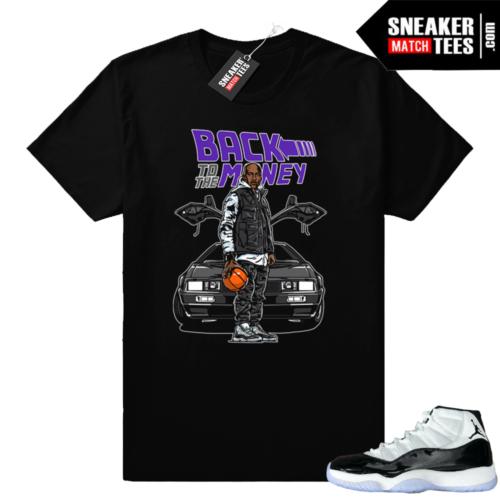Match Jordan 11 Concord sneaker tees