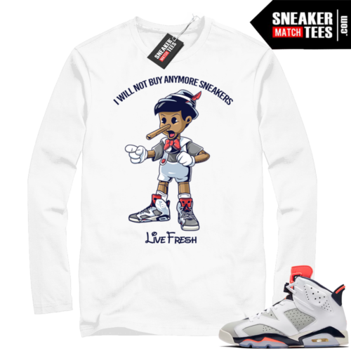Match Jordan 6 Tinker Long Sleeve shirt