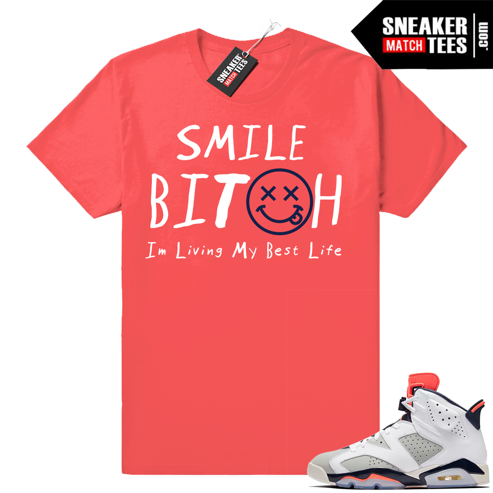 Match Jordan 6 Tinker shirt