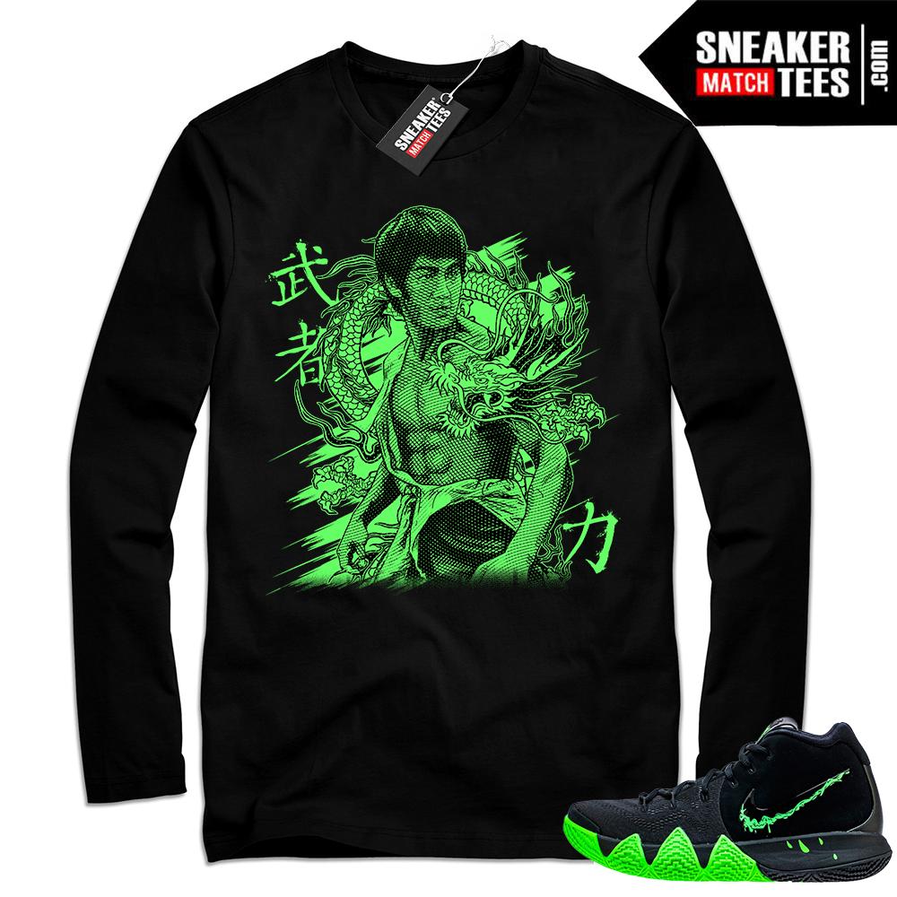 Match Nike Kyrie 4 Halloween t-shirt