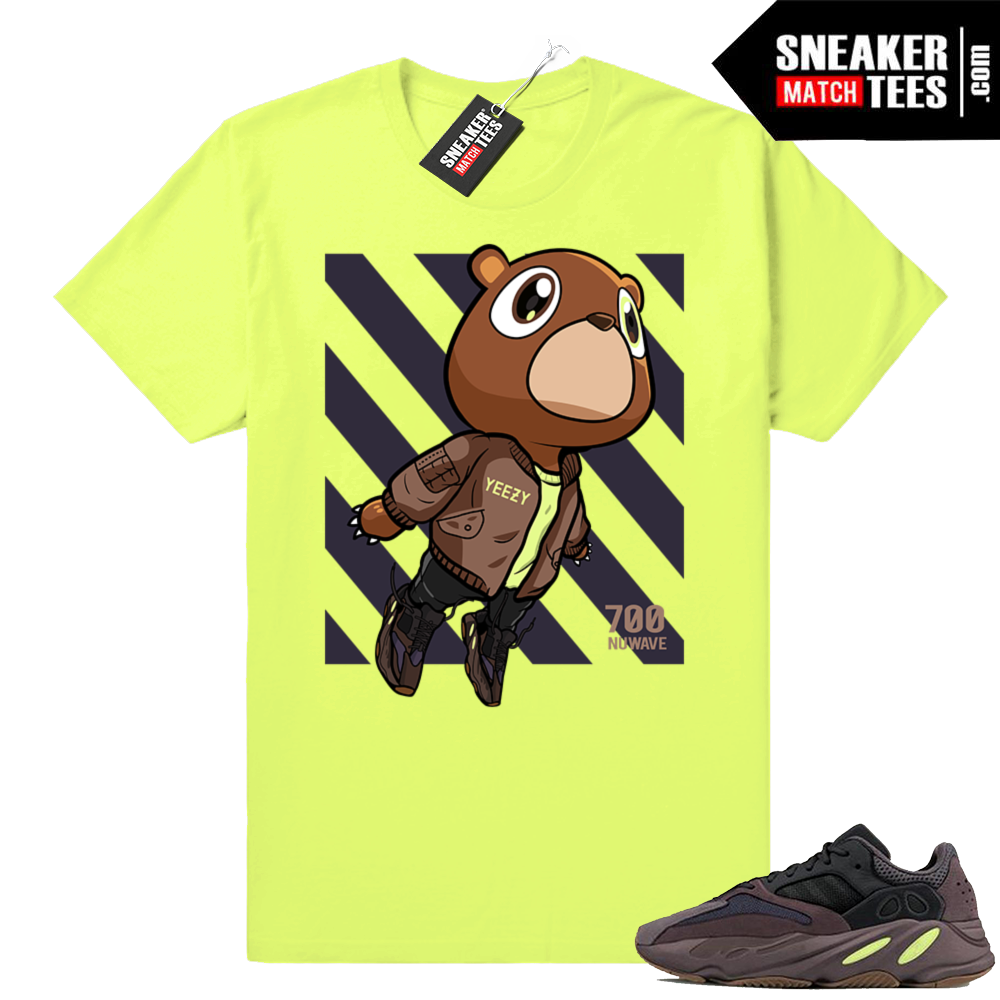 Mauve shirt Yeezy 700 Boost