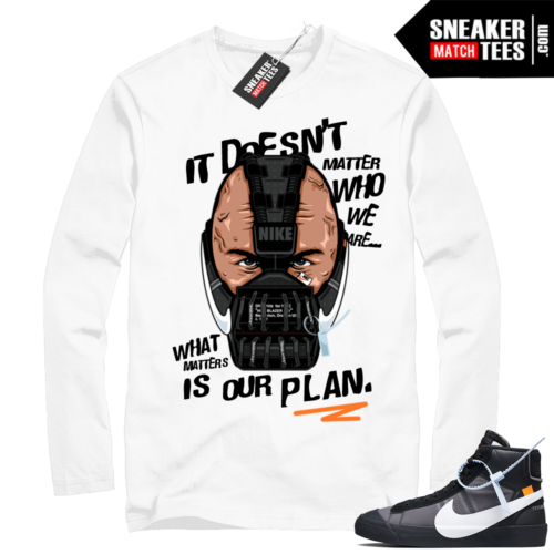 Off-white Nike Blazer Grim Reaper shirt match