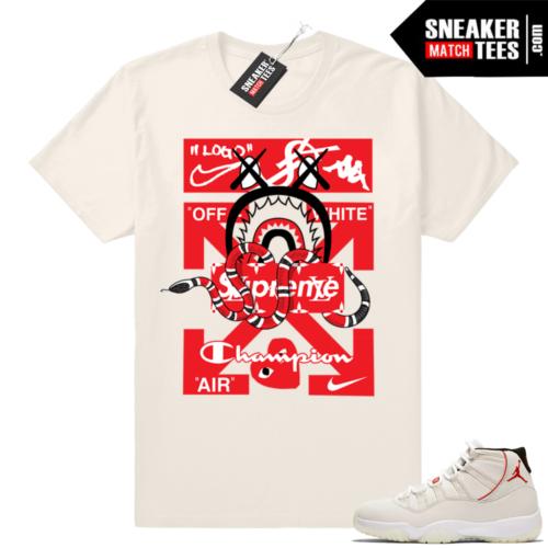 Platinum Tint 11 Jordan shirts
