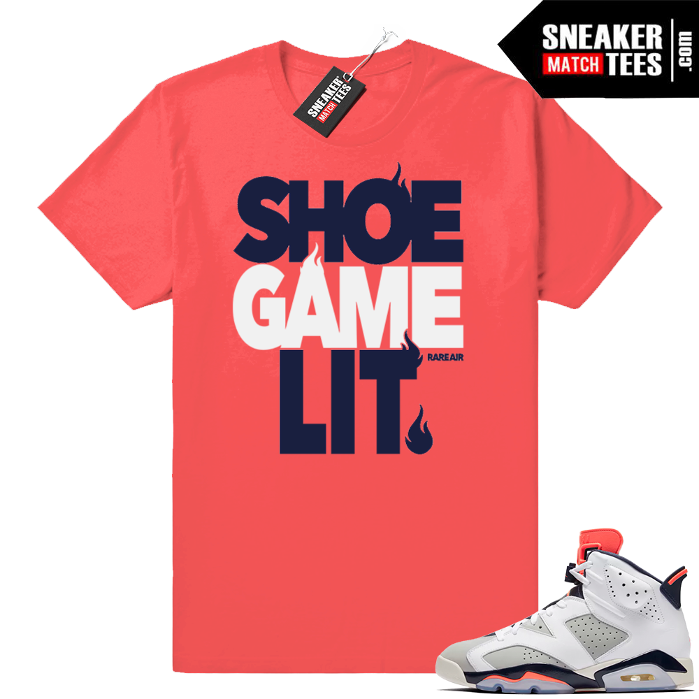 Retro 6 Jordan shirt