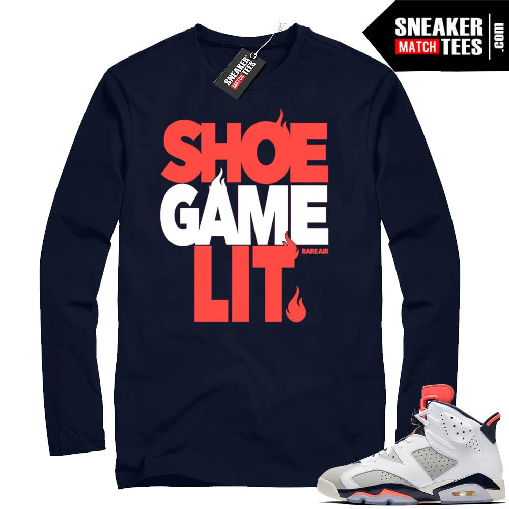 Retro Jordan 6 shirt