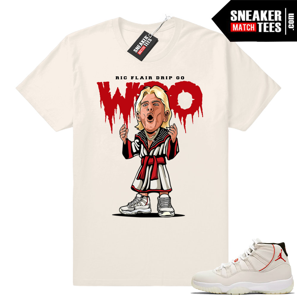 Ric Flair Drip Jordan 11 t-shirt
