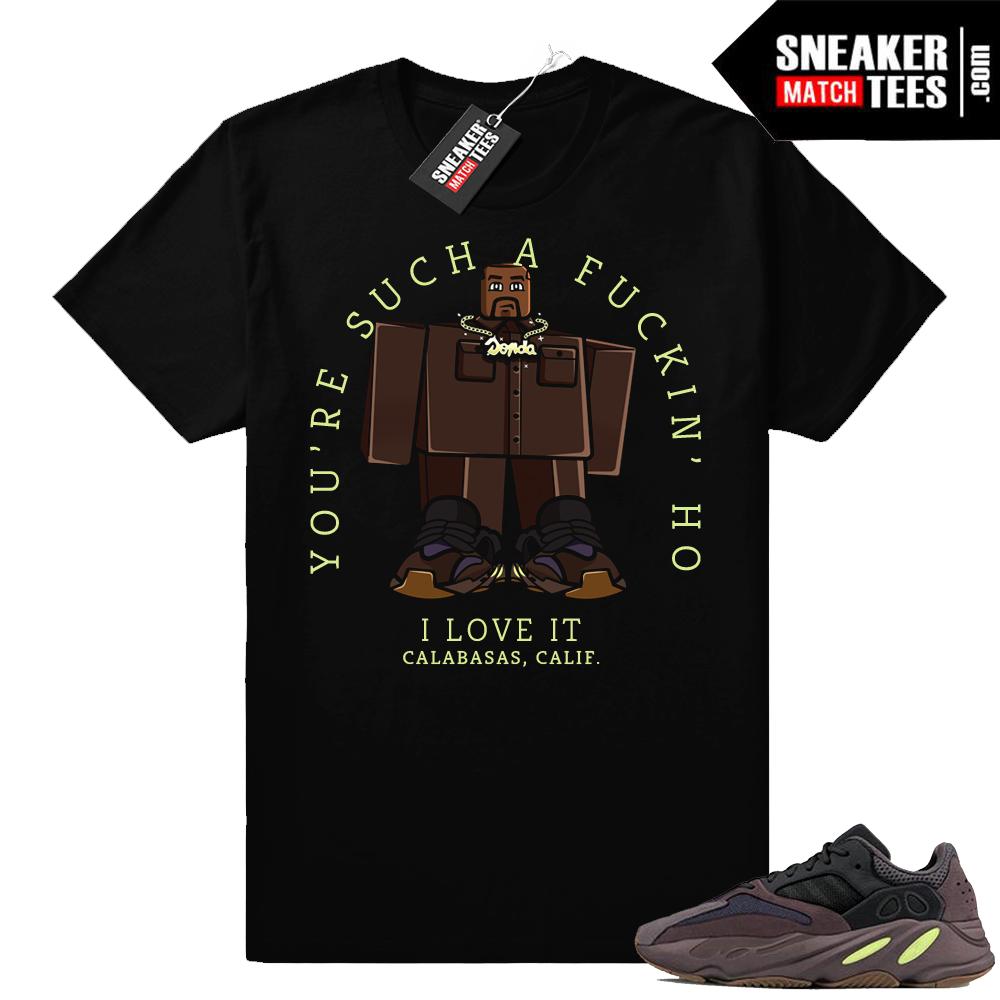 Roblox Kanye Yeezy 700 Mauve t-shirt