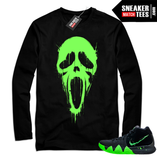 Shirt match Kyrie 4 Halloween sneakers