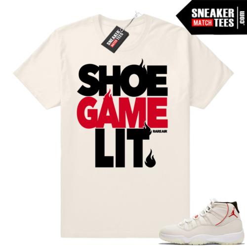 Shoe Game Lit Jordan 11 T-shirt
