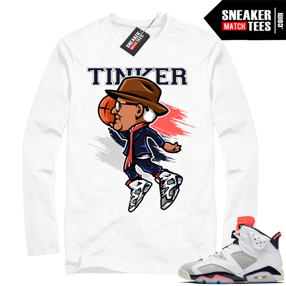 Tinker 6 infrared Jordan shirt
