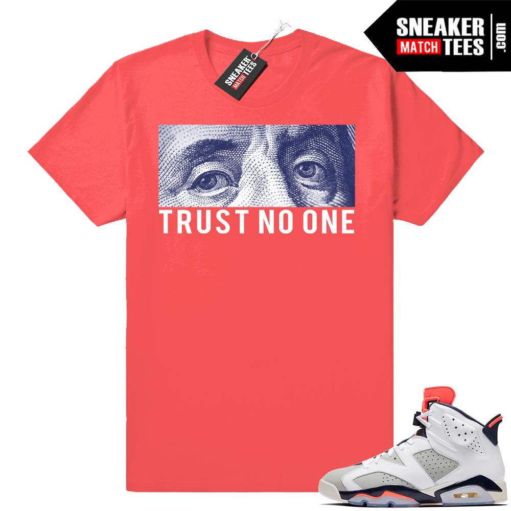 Trust No One Infrared shirt