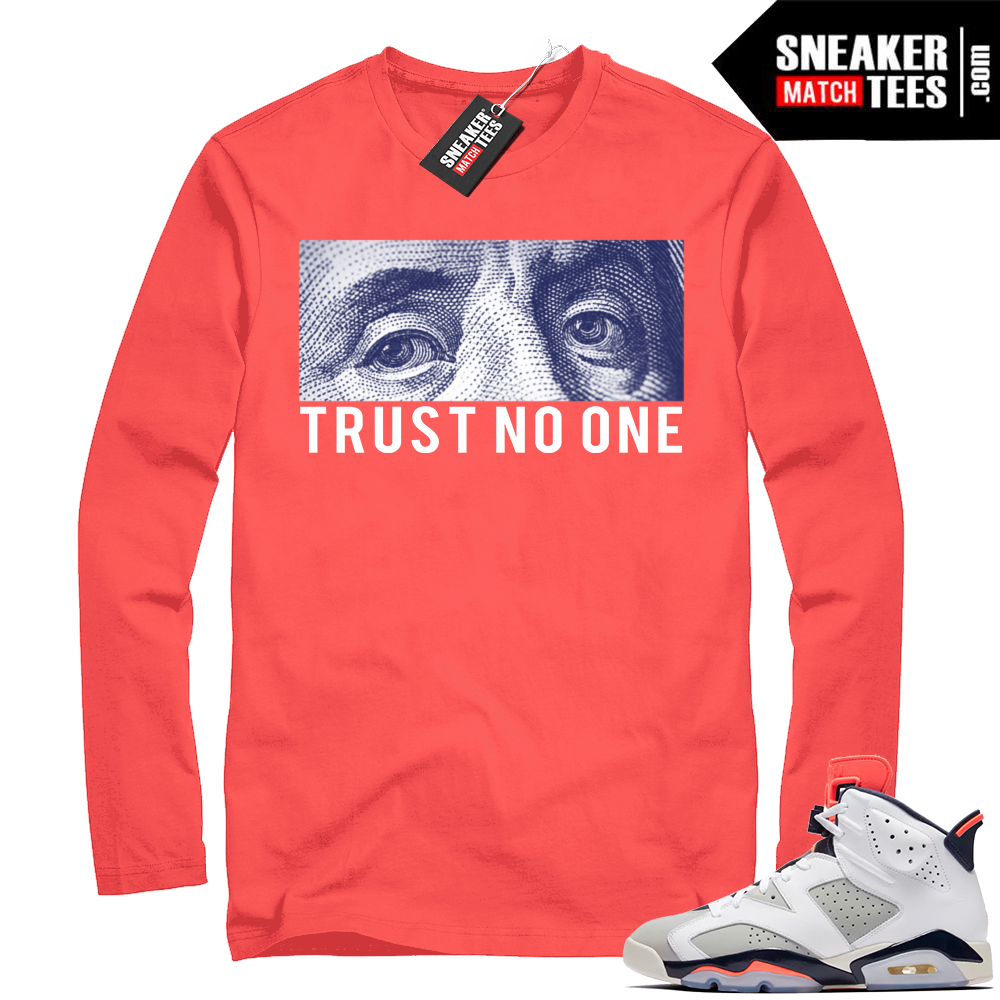 Trust no one Tinker 6 shirt