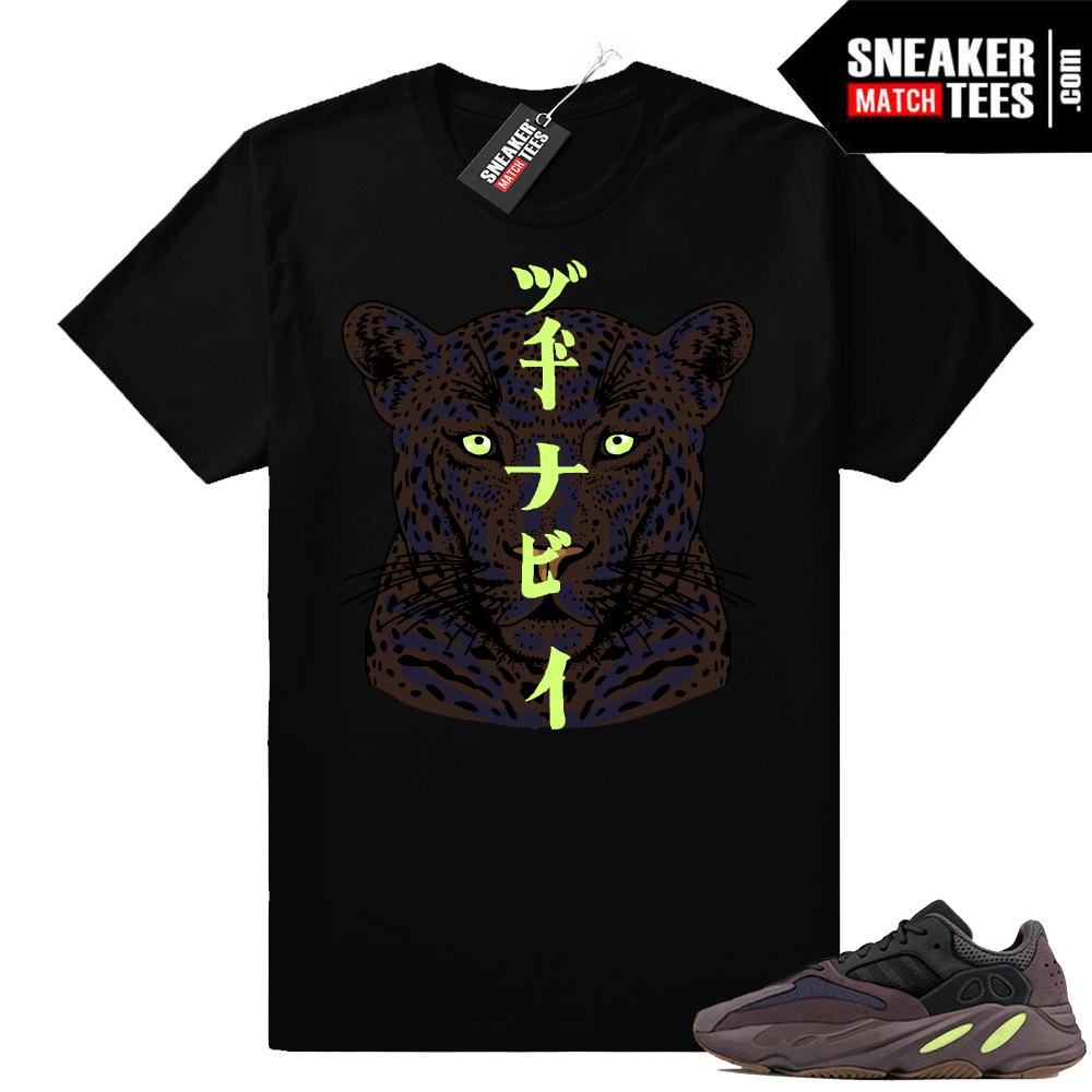 Yeezy 700 Mauve shirt match