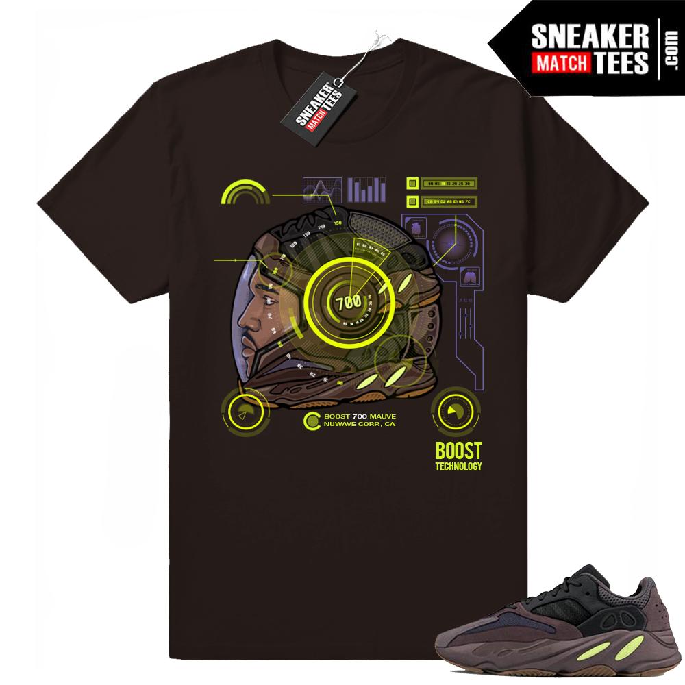 Yeezy 700 Mauve t-shirts