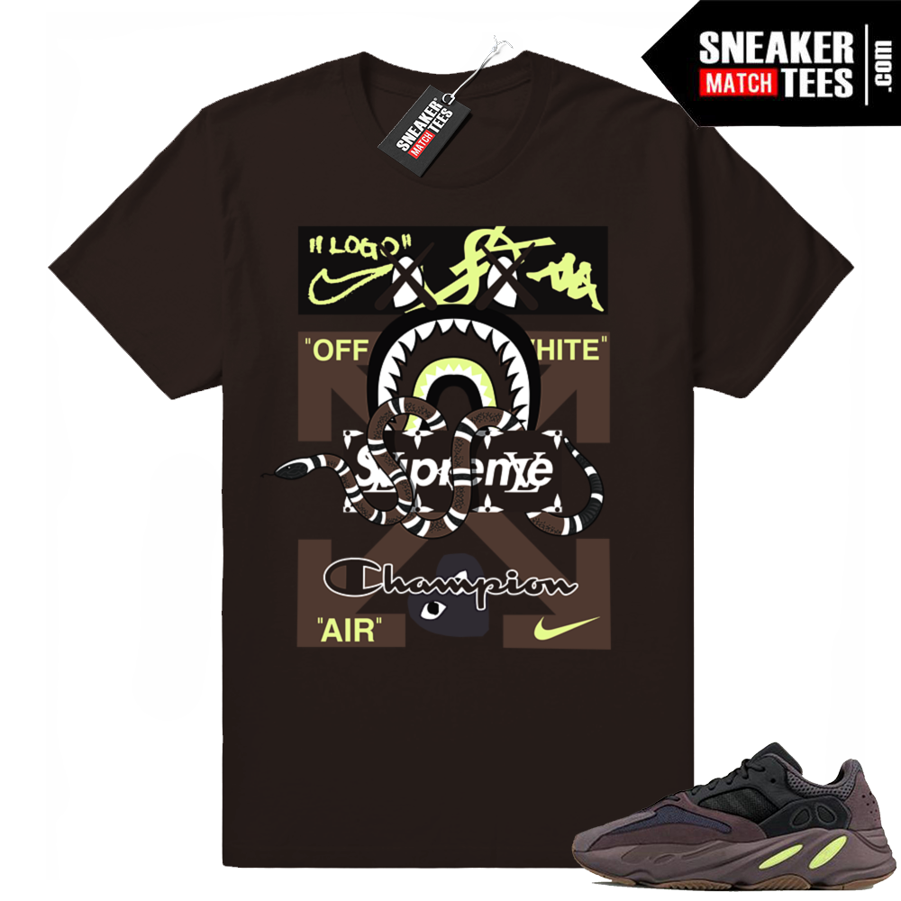 Yeezy 700 Mauve t-shirt