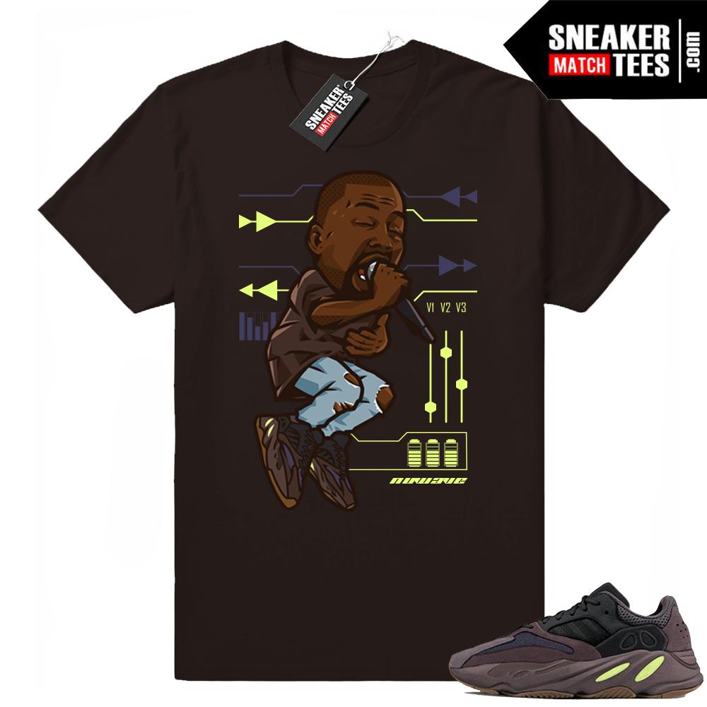 Yeezy 700 Mauve Ye t-shirt