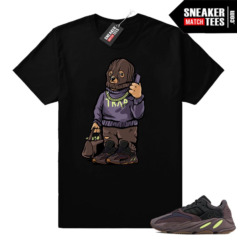 Yeezy Bear Muave 700 Trap shirt
